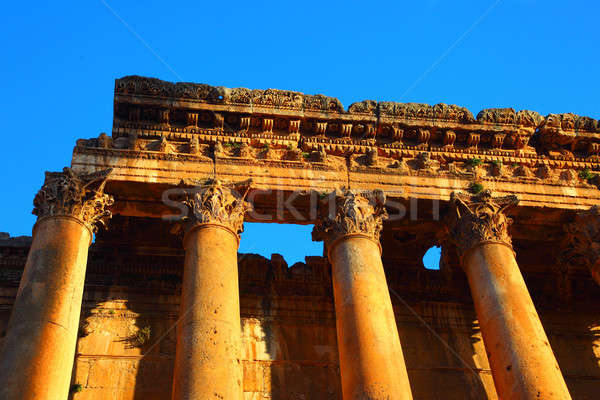 Baalbeck temple in Heliopolis Stock photo © Anna_Om
