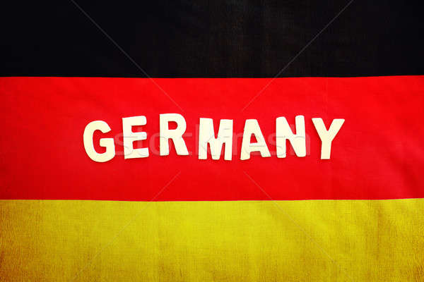 German flag Stock photo © Anna_Om