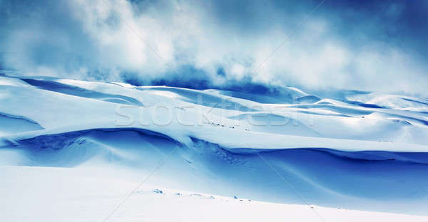 Winter mountains landscape Stock photo © Anna_Om