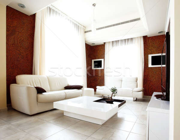 Luxury apartment Stock photo © Anna_Om