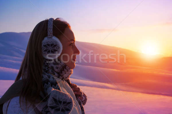 Winter holidays in the mountains Stock photo © Anna_Om