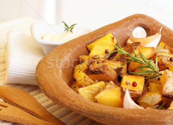Stok fotoğraf: Patates · fotoğraf · lezzetli · sarımsak