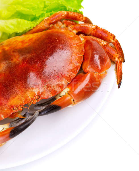 Tasty boiled crab Stock photo © Anna_Om