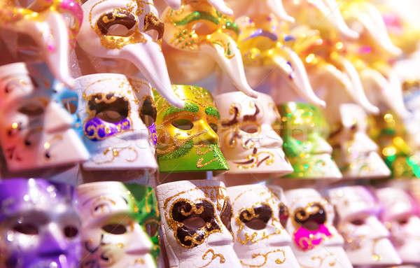 美しい ベニスの マスク 販売 多くの ゴージャス ストックフォト © Anna_Om