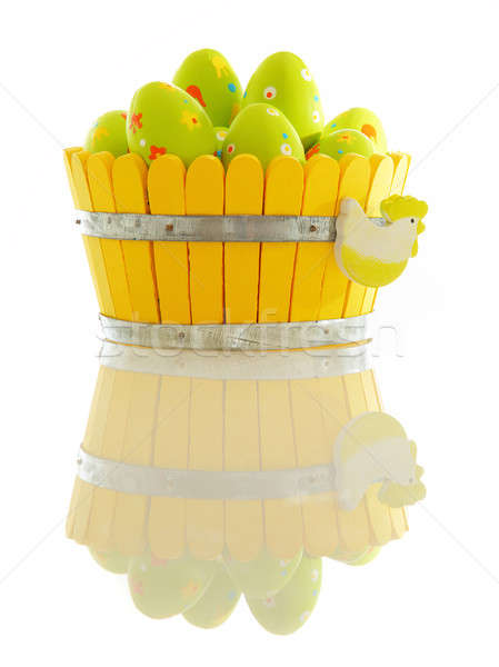 Easter eggs Stock photo © Anna_Om