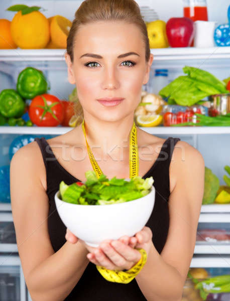 Organic nutrition concept Stock photo © Anna_Om