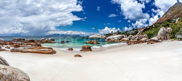 Stockfoto: Strand · stad · reizen · South · Africa · mooie · panoramisch