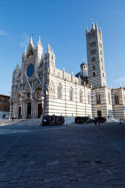 красивой собора Тоскана Италия здании Сток-фото © anshar
