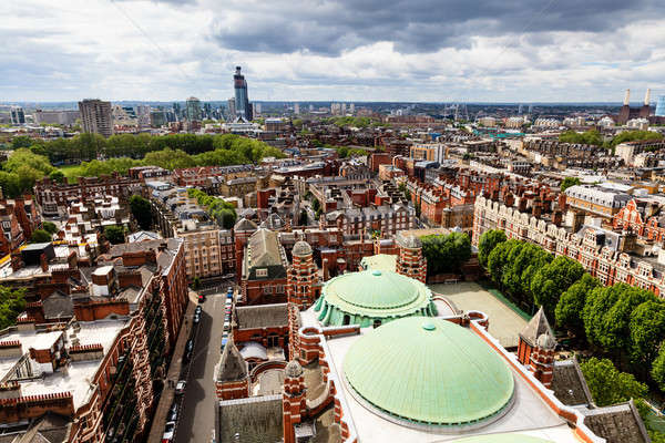 Aerial View from Westminster Cathedral on Roofs and Houses of Lo Stock photo © anshar