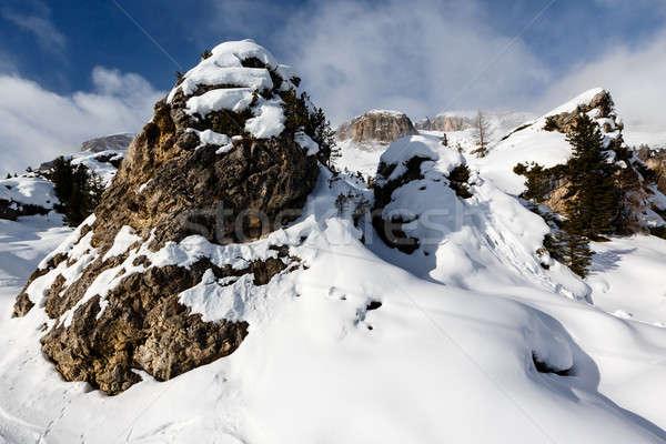Rocky Mountains on the Skiing Resort of Arabba, Dolomites Alps,  Stock photo © anshar