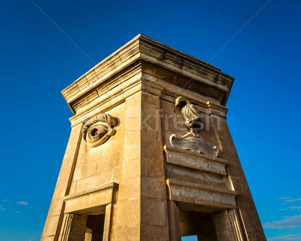 Fortified Tower in Gardjola Gardens, Malta Stock photo © anshar