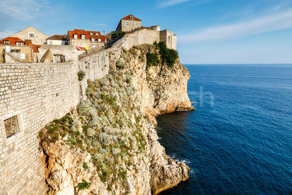 City of Dubrovnik and  its Defensive Wall in Dalmatia, Croatia Stock photo © anshar