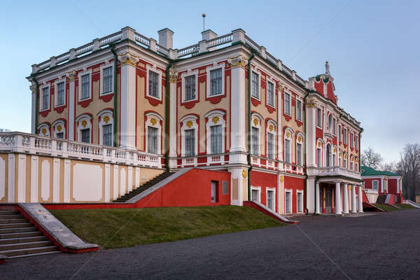 The Kadriorg Palace built by Tsar Peter the Great in Tallinn, Es Stock photo © anshar