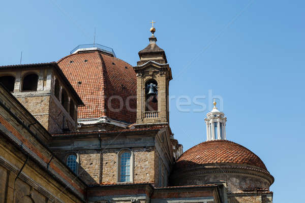 Medici Chapels in the San Lorenzo Church in Florence, Tuscany, I Stock photo © anshar