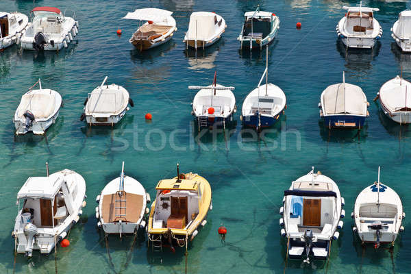 Boats in Marina of Dubrovnik, Croatia Stock photo © anshar
