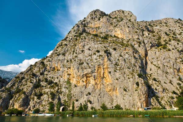 Canyon of Mountain River near Split, Croatia Stock photo © anshar