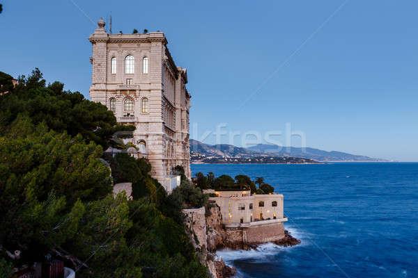 мнение музее Монако Франция воды здании Сток-фото © anshar