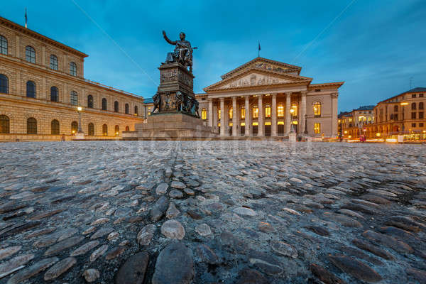 The National Theatre of Munich, Located at Max-Joseph-Platz Squa Stock photo © anshar