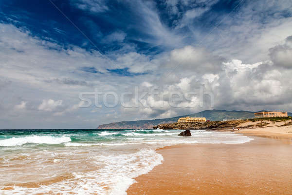 Famous Guincho Beach in Cascais near Lisbon, Portugal Stock photo © anshar