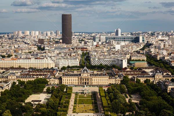 Aerial View on Champ de Mars from the Eiffel Tower, Paris, Franc Stock photo © anshar