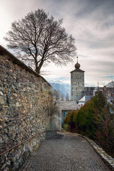 цитадель стены Швейцария здании город Сток-фото © anshar