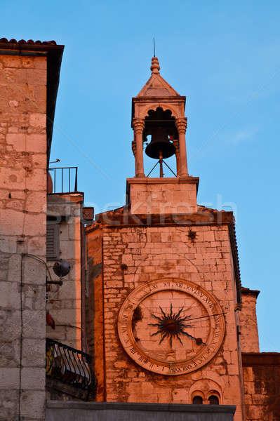 Iron Gate in Diocletian Palace in Split, Croatia Stock photo © anshar