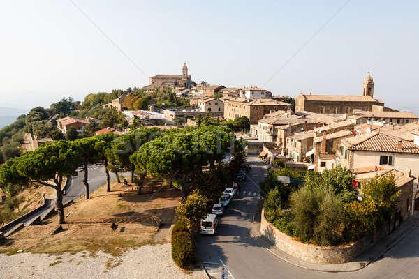 Cidade vinho Itália árvore viajar Foto stock © anshar