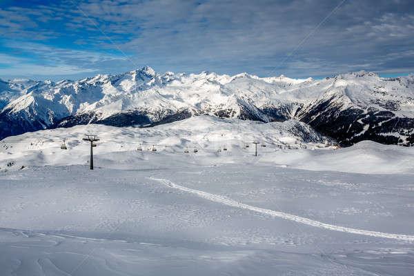 Madonna di Campiglio Ski Resort in Italian Alps, Italy Stock photo © anshar