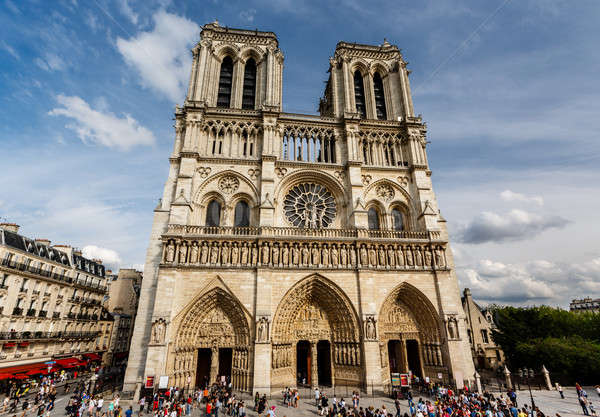 Сток-фото: Париж · собора · острове · Франция · здании