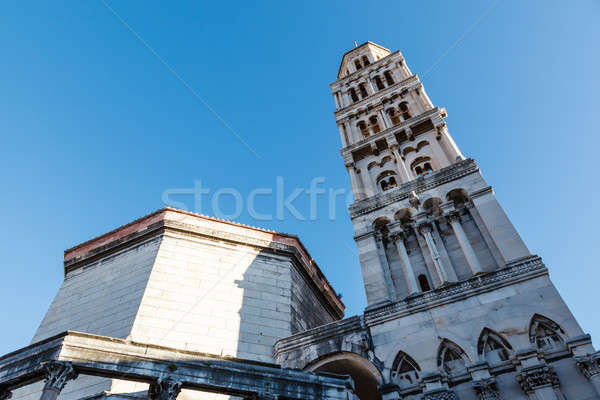 Stock photo: Cathedral of Saint Duje Bell Tower, Split, Croatia
