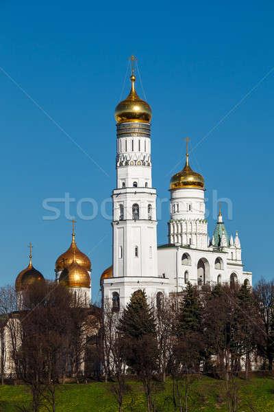 Campana torre detrás Kremlin pared Foto stock © anshar