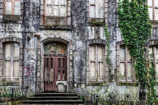Old Haunted House in Sintra near Lisbon, Portugal Stock photo © anshar