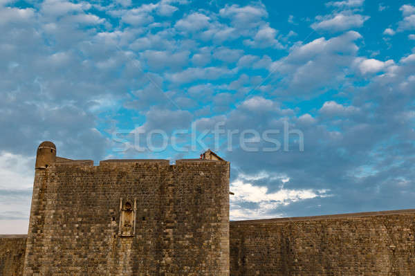 City Walls of Dubrovnik, Croatia Stock photo © anshar