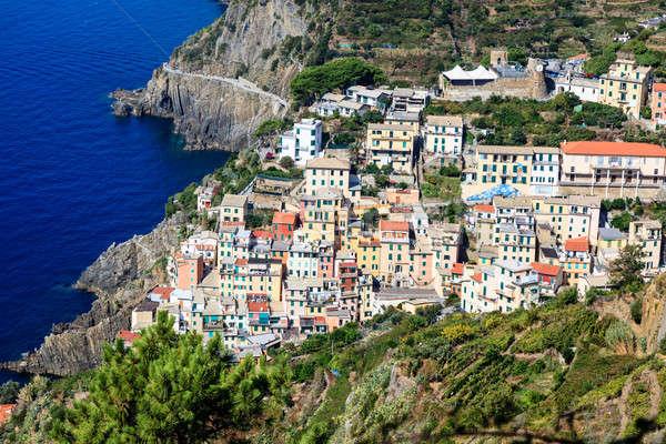 Traditional Village of Riomaggiore in Cinque Terre, Italy Stock photo © anshar