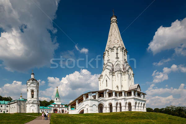 Church of the Ascension in Kolomenskoye, Moscow, Russia Stock photo © anshar