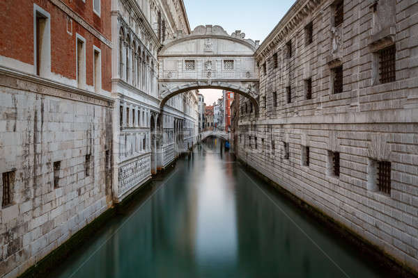Bridge of Sighs and Doge's Palace in Venice, Italy Stock photo © anshar
