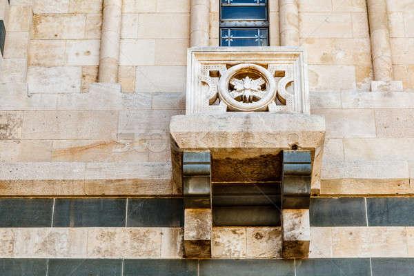 Detail View of Notre-Dame de la Garde in Marseilles, France Stock photo © anshar