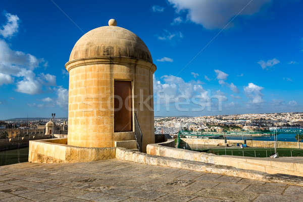 Watch Tower in Hastings Garden in Valletta, Malta Stock photo © anshar
