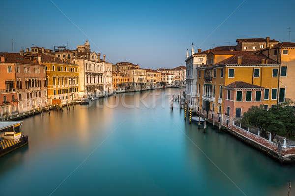 мнение канал станция моста Восход Венеция Сток-фото © anshar