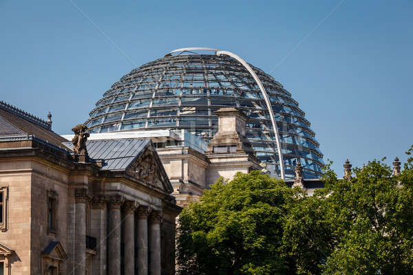 The Roof of Reichstag Building in Berlin, Germany Stock photo © anshar