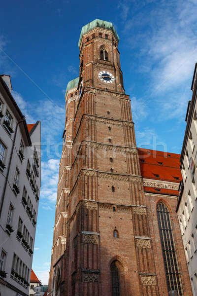 Church of Our Lady (Frauenkirche) in Munich at Night, Bavaria, G Stock photo © anshar