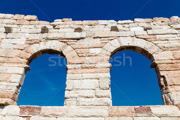 Ancient Roman Arena in Verona, Veneto, Italy Stock photo © anshar