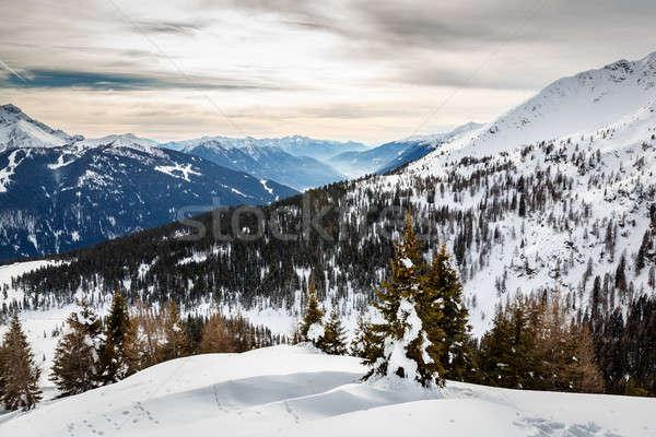 Madonna di Campiglio Ski Resort, Italian Alps, Italy Stock photo © anshar