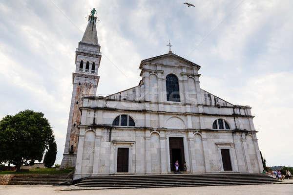Saint Euphemia Cathedral in Rovinj, Croatia Stock photo © anshar