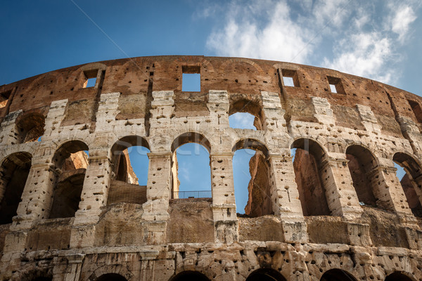 Colosseum or Coliseum, also known as the Flavian Amphitheatre, R Stock photo © anshar