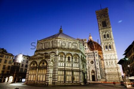 Panorama of San Carlo Square and Church of Saint Charles Borrome Stock photo © anshar