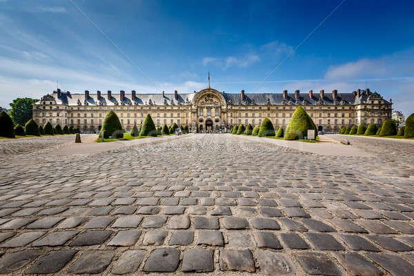 Oorlog geschiedenis museum Parijs Frankrijk hemel Stockfoto © anshar