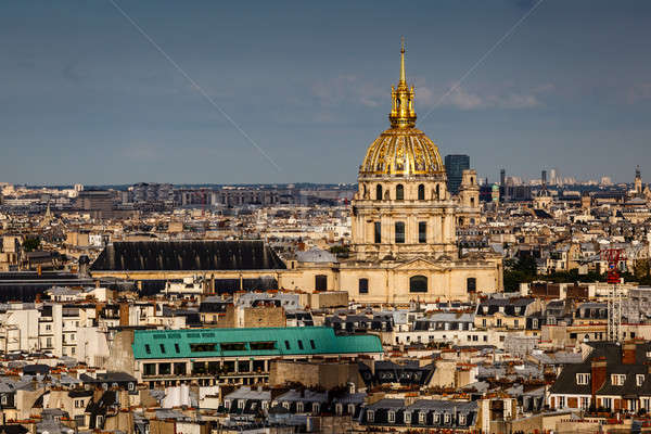 Aerial View on Les Invalides from the Eiffel Tower, Paris, Franc Stock photo © anshar