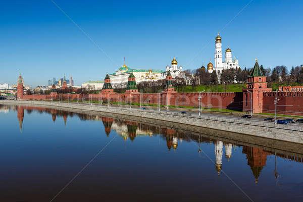 Москва Кремль колокола башни Россия Сток-фото © anshar
