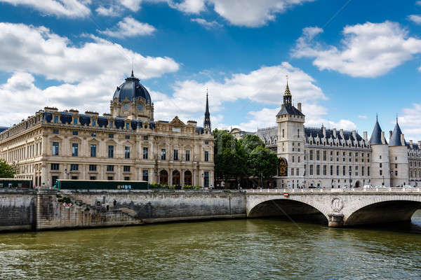 La Conciergerie, a Former Royal Palace and Prison in Paris, Fran Stock photo © anshar